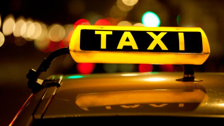 タクシーの頭